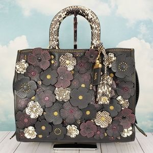 COACH Exotic Tea Rose Rogue Snake 1941